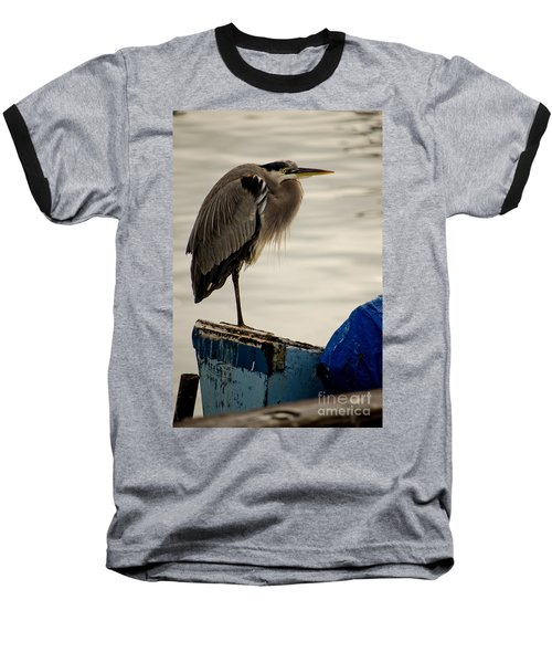 Sittin' On The Dock Of The Bay Baseball T-Shirt