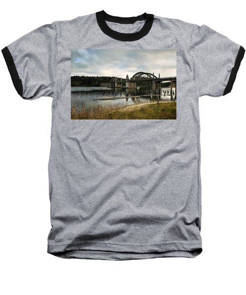 Baseball T-Shirt featuring the photograph Siuslaw River Bridge by Belinda Greb