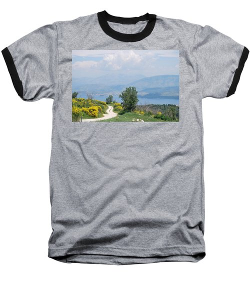 Six Islands 2 Baseball T-Shirt by George Katechis