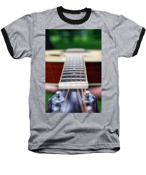 Six String Music Baseball T-Shirt
