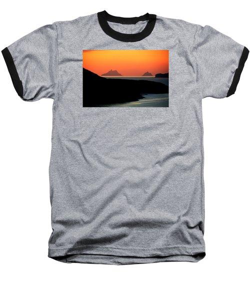 Skellig Islands  Baseball T-Shirt