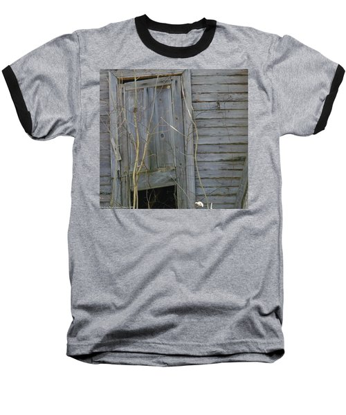 Baseball T-Shirt featuring the photograph Skewed by Nick Kirby