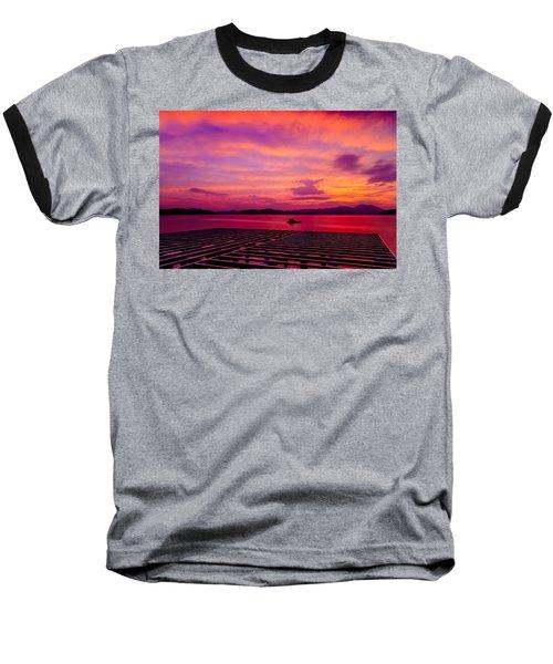 Skies Ablaze - Two Baseball T-Shirt