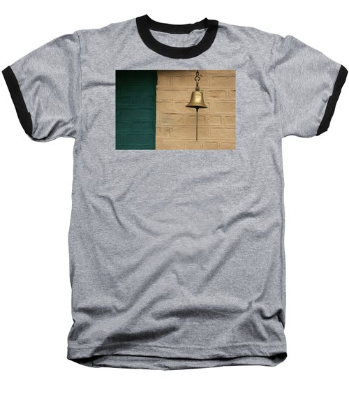 Baseball T-Shirt featuring the photograph Skc 0005 A Doorbell by Sunil Kapadia
