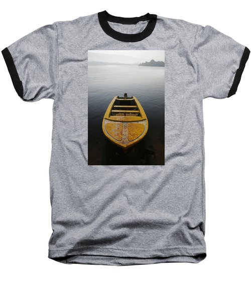 Skc 0042 Calmness Anchored Baseball T-Shirt