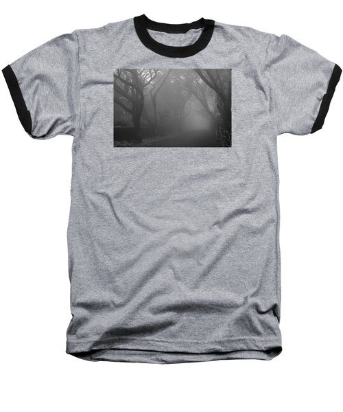 Baseball T-Shirt featuring the photograph Skc 0077 A Romatic Path by Sunil Kapadia