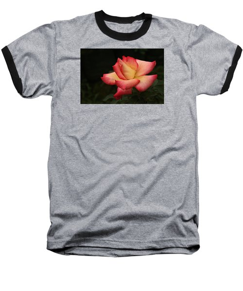 Skc 0432 Blooming And Blossoming Baseball T-Shirt