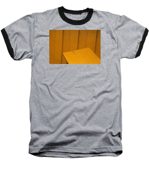 Baseball T-Shirt featuring the photograph Skc 1496 A Tea Shack Bench by Sunil Kapadia