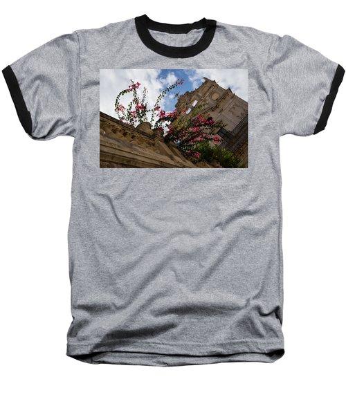 Baseball T-Shirt featuring the photograph Sky Blossoms by Georgia Mizuleva