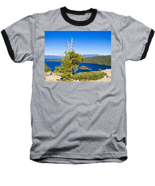 Sky Blue Water - Emerald Bay - Lake Tahoe Baseball T-Shirt