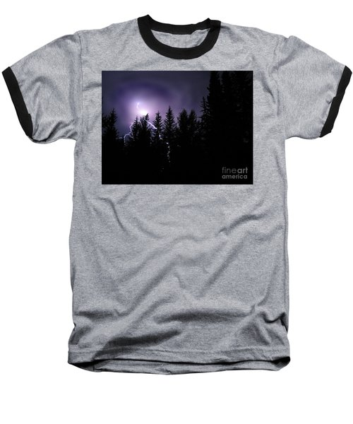 Sky Bolt Baseball T-Shirt