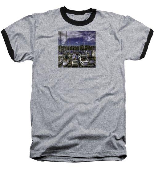 Baseball T-Shirt featuring the photograph Sky Embrace by Jean OKeeffe Macro Abundance Art