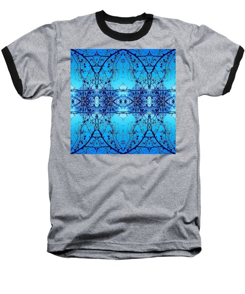 Sky Lace Abstract Photo Baseball T-Shirt