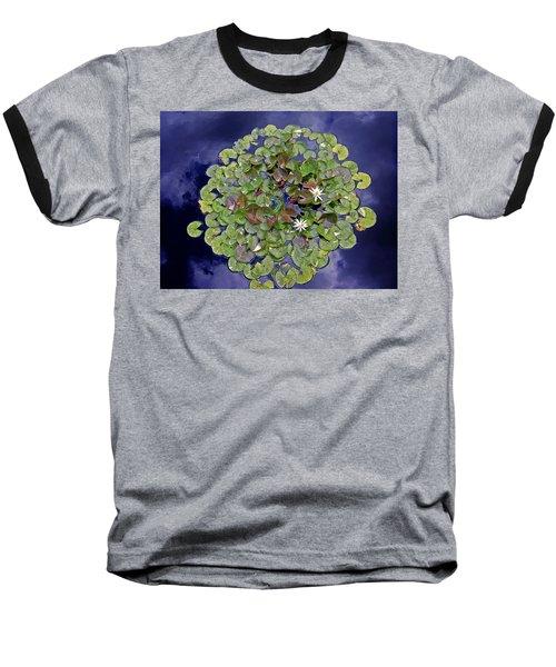 Sky Lilies Baseball T-Shirt
