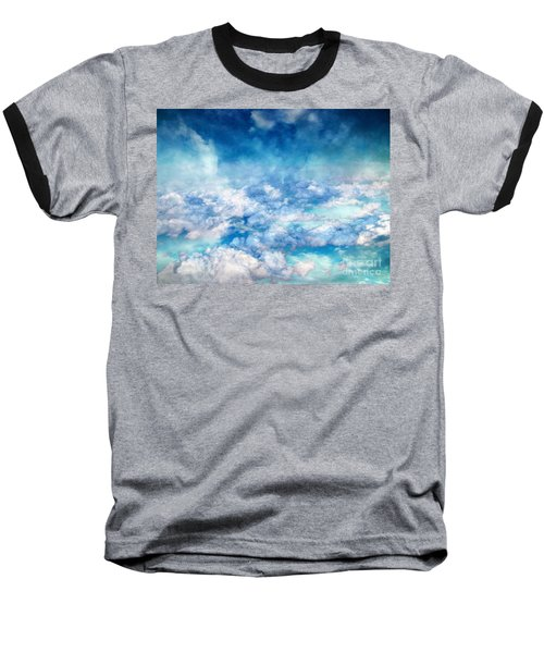 Sky Moods - A View From Above Baseball T-Shirt