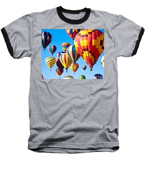 Sky Of Color Baseball T-Shirt