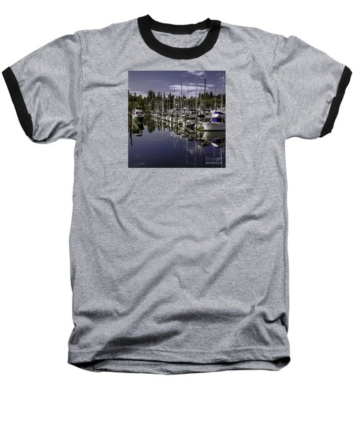 Baseball T-Shirt featuring the photograph Sky Reach by Jean OKeeffe Macro Abundance Art