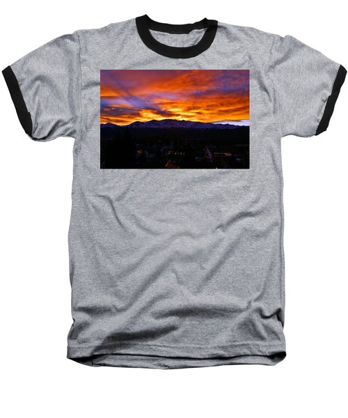 Baseball T-Shirt featuring the photograph Sky Shadows by Jeremy Rhoades
