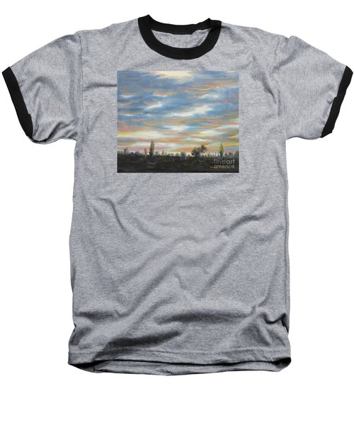 Sky Baseball T-Shirt by Vesna Martinjak