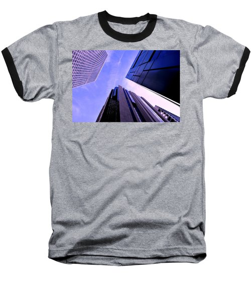 Skyscraper Angles Baseball T-Shirt