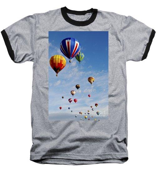 Skyward Bound Baseball T-Shirt by Gina Savage