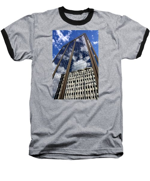 Baseball T-Shirt featuring the photograph Skyward by Linda Bianic
