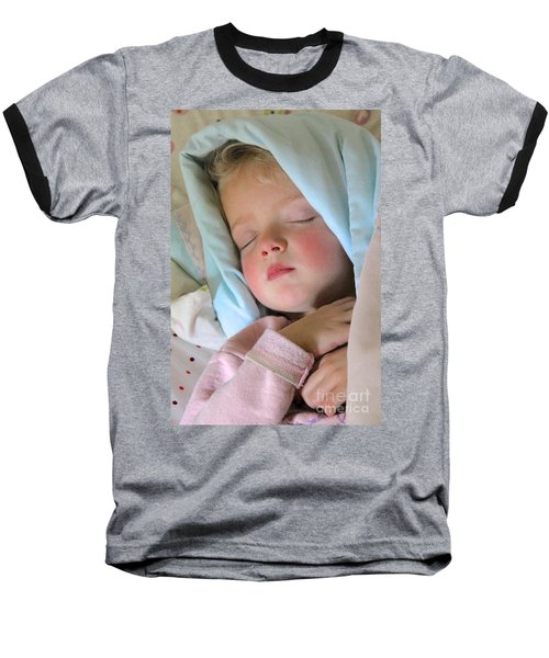 Sleeping Angel Baseball T-Shirt
