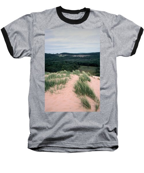 Sleeping Bear Dunes Baseball T-Shirt