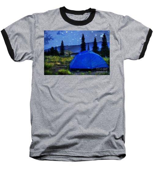 Sleeping Under The Stars Baseball T-Shirt