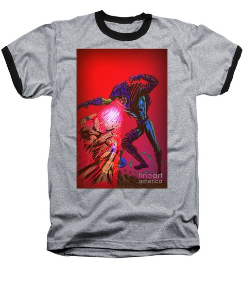 Baseball T-Shirt featuring the drawing Sleepwalker 1c by Justin Moore