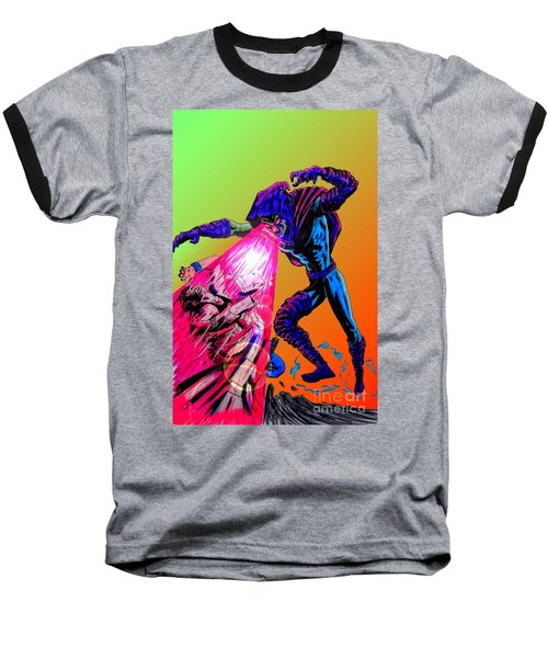 Baseball T-Shirt featuring the drawing Sleepwalker 1d by Justin Moore