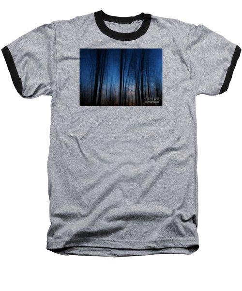 Sleepwalking... Baseball T-Shirt by Nina Stavlund