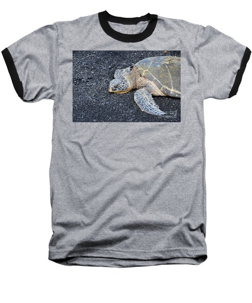 Baseball T-Shirt featuring the photograph Sleepy Head by David Lawson