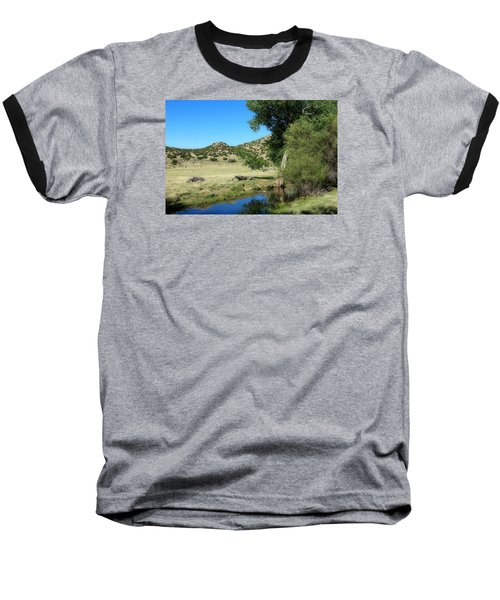 Baseball T-Shirt featuring the photograph Sleepy Summer Afternoon by Elizabeth Sullivan