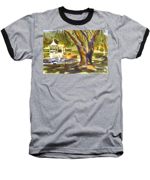 Sleepy Summers Morning Baseball T-Shirt