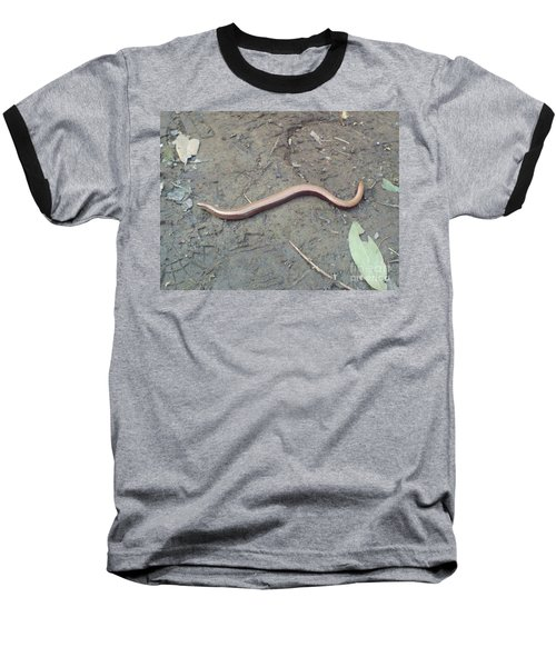 Slow Worm Baseball T-Shirt