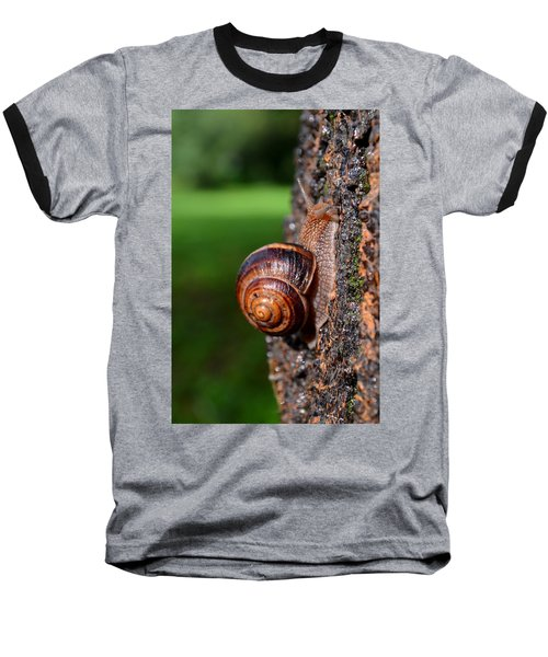 Slowly And Surely Baseball T-Shirt
