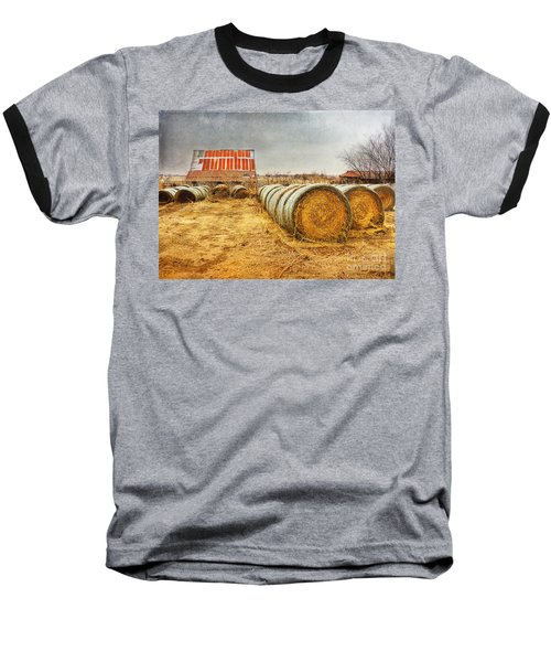 Slumbering In The Countryside Baseball T-Shirt