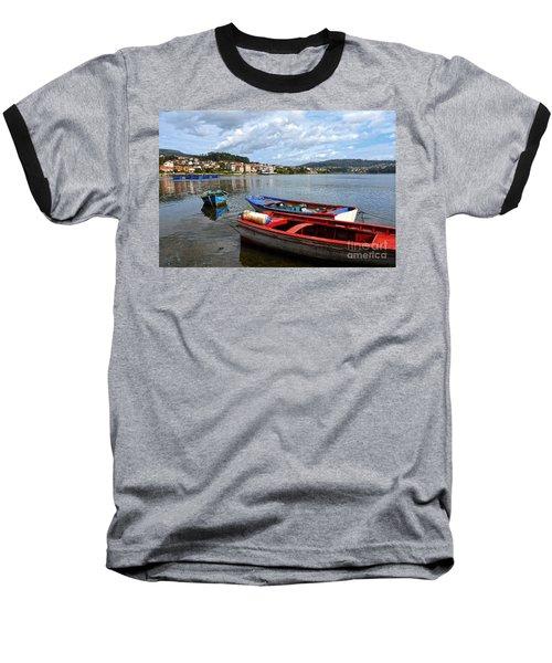 Small Boats In Galicia Baseball T-Shirt