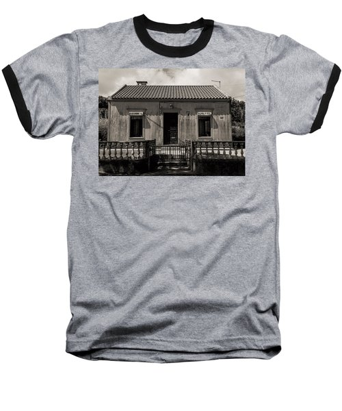 Small Country House With Tiled Roof  Baseball T-Shirt