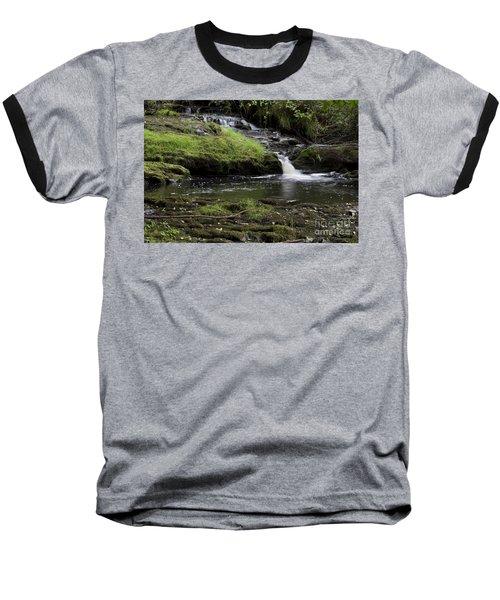 Small Falls On West Beaver Creek Baseball T-Shirt by Kathy McClure