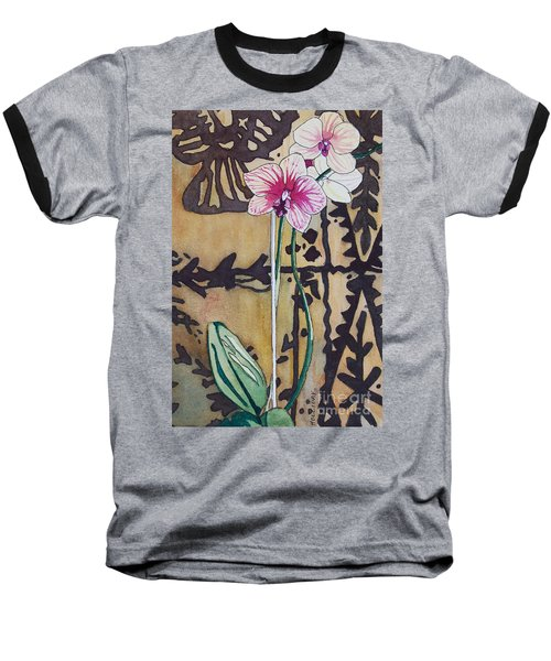 Small Orchids Baseball T-Shirt