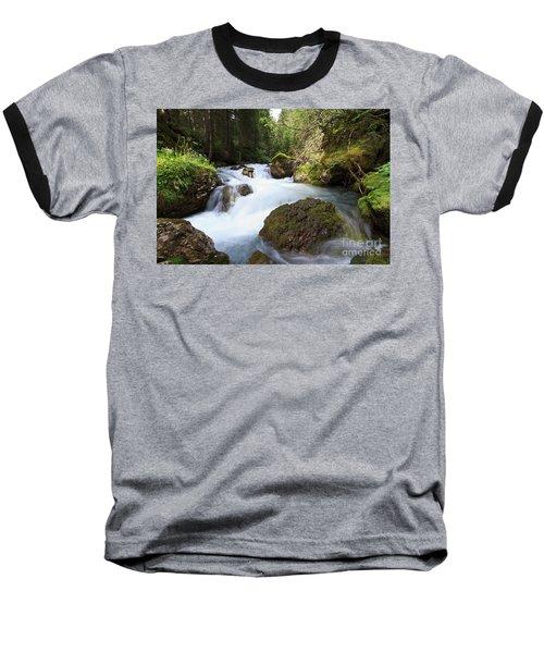 Baseball T-Shirt featuring the photograph Small Stream by Antonio Scarpi