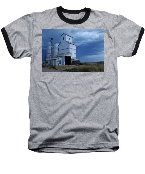 Baseball T-Shirt featuring the photograph Small Town Hot Night Big Storm by Cathy Anderson