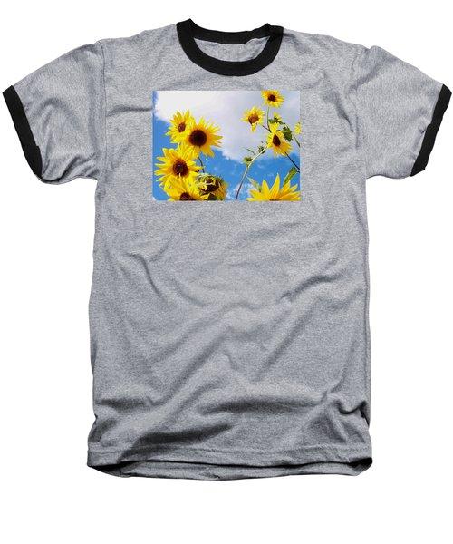 Smile Down On Me Baseball T-Shirt