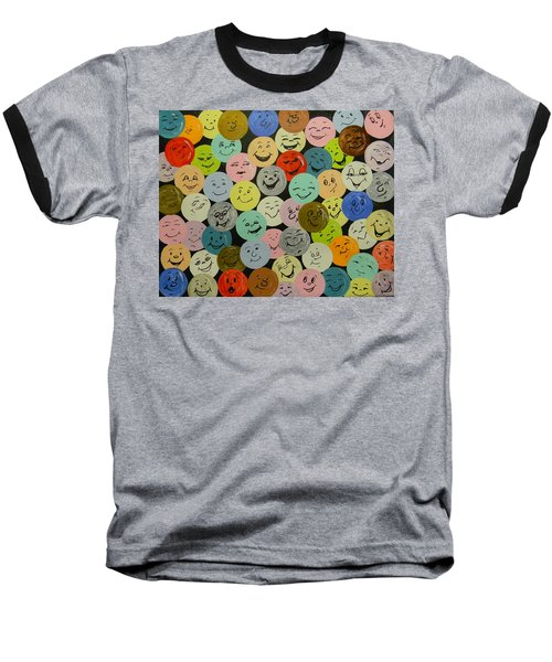 Smilies Baseball T-Shirt