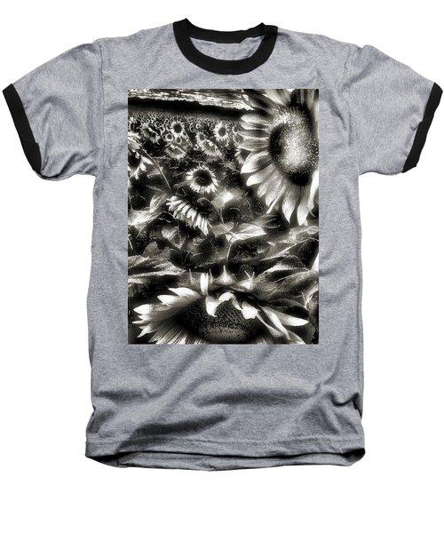 Smilin Atchya Baseball T-Shirt by Robert McCubbin