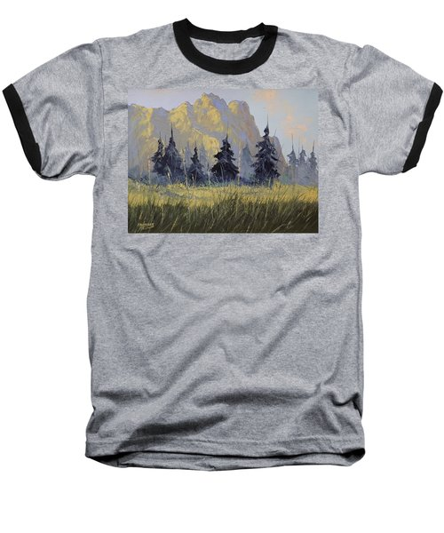 Smith Rock Oregon Baseball T-Shirt