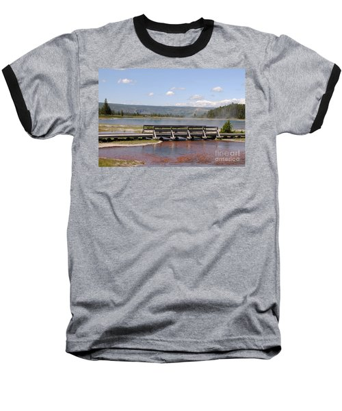 Baseball T-Shirt featuring the photograph Smoke On The Water by Mary Carol Story