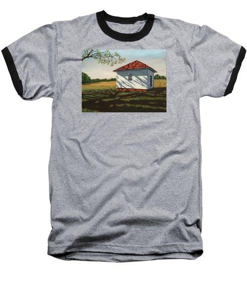 Smokehouse Baseball T-Shirt by Alan Mager
